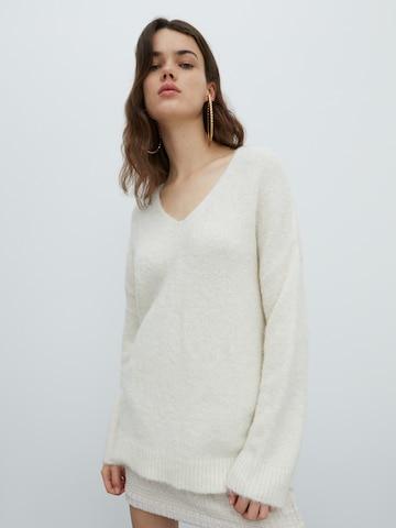 EDITED Pullover 'Fawini' in Weiß