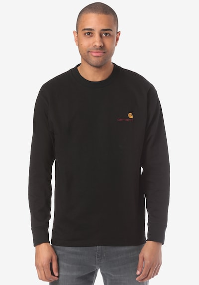 Carhartt WIP Shirt 'American Script' in schwarz, Produktansicht