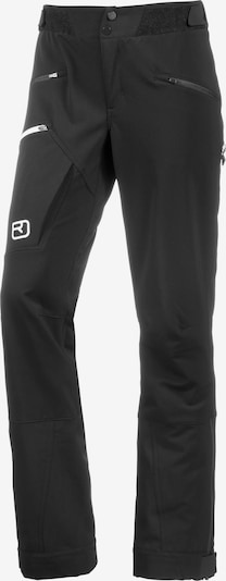 ORTOVOX Skitourenhose 'Médola' in schwarz, Produktansicht