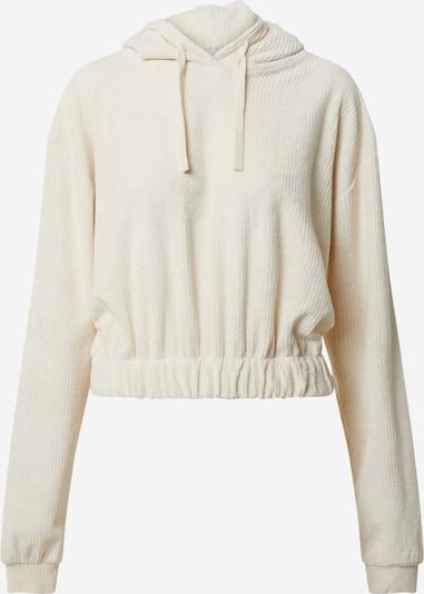 NU-IN Sweatshirt in de kleur Crème, Productweergave