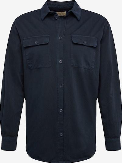 Nudie Jeans Co Overhemd 'Gabriel' in de kleur Navy, Productweergave