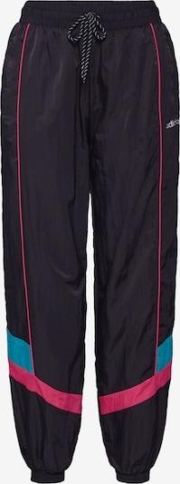 Pantaloni 'TECH PANT CUFFED' ADIDAS ORIGINALS pe turcoaz / roz neon / negru, Vizualizare produs
