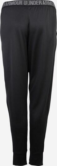 UNDER ARMOUR Sporthose 'Play Up - Solid' in schwarz: Rückansicht
