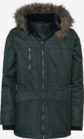 Kilmanock Winterparka 'INGELS JR.' in hellbraun / smaragd, Produktansicht