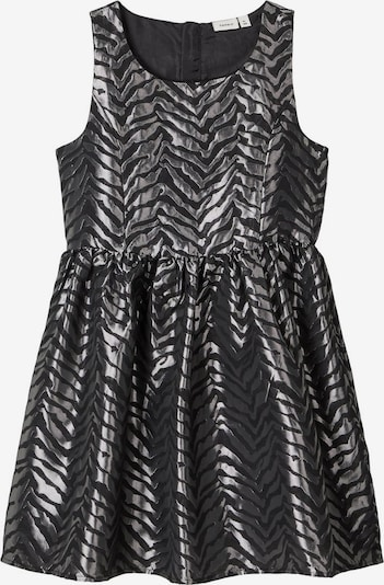 NAME IT Kleid in schwarz / silber, Produktansicht