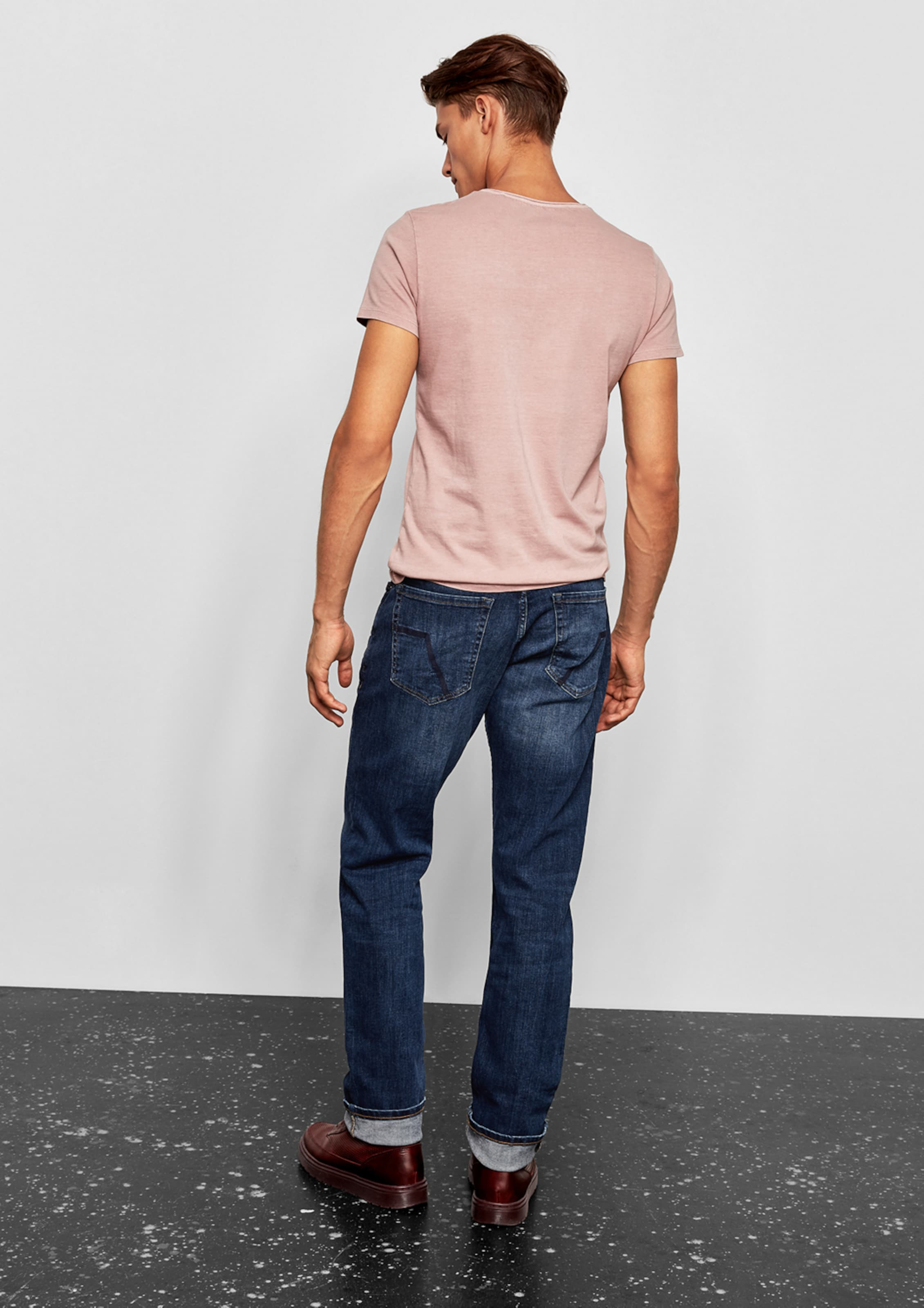 'pete' Stretchjeans Dunkelblau Designed s By Q In KJ1clTF