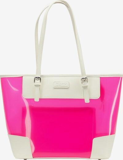 myMo ATHLSR Schultertasche in pink / weiß, Produktansicht