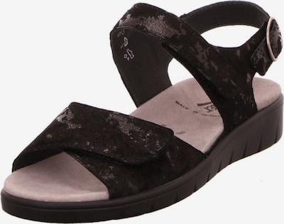 SEMLER Sandale in schwarz, Produktansicht