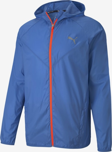 PUMA Jacke 'Last Lap' in blau / rot, Produktansicht