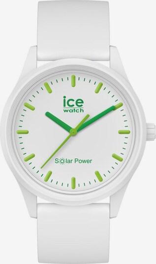 ICE WATCH Uhr in grün / weiß, Produktansicht