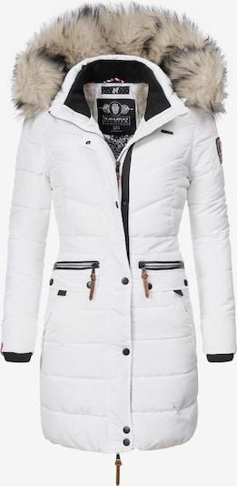 NAVAHOO Steppmantel 'Paula' in weiß, Produktansicht