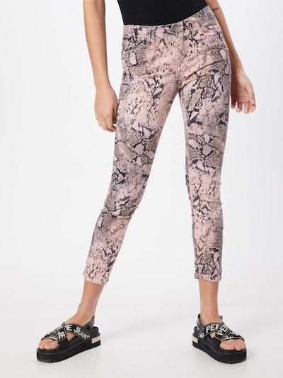 PLEASE Jeans in rosa, Modelansicht