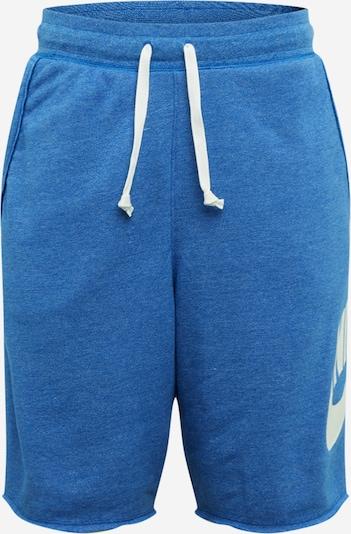 királykék / fehér Nike Sportswear Nadrág, Termék nézet