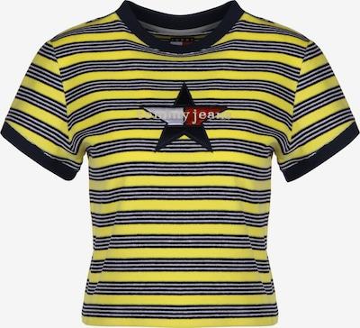 Tommy Jeans T-Shirt ' Summer Stripe W ' in gelb / schwarz, Produktansicht