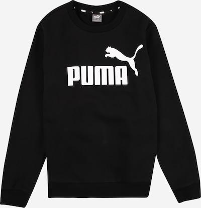 PUMA Sportska sweater majica u crna / bijela, Pregled proizvoda