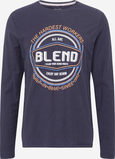 BLEND Majica u plava / mornarsko plava / žuta / siva, Pregled proizvoda