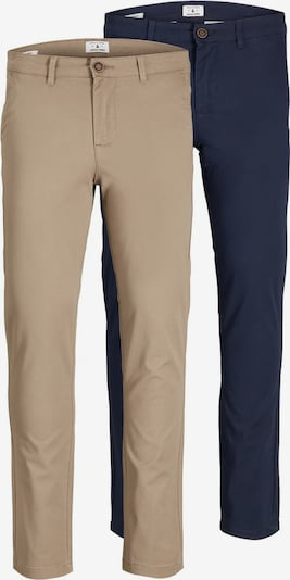 JACK & JONES Chino hlače 'Marco' u bež / mornarsko plava, Pregled proizvoda