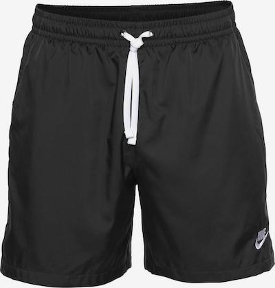 Nike Sportswear Shorts in schwarz / weiß, Produktansicht