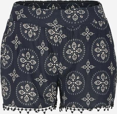 LASCANA Pantalon en noir / blanc naturel, Vue avec produit