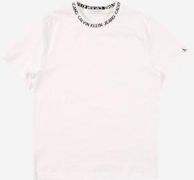 Calvin Klein Jeans Majica u bijela: Prednji pogled