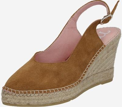 MACARENA Sandalette 'DENIS6' in beige / camel, Produktansicht