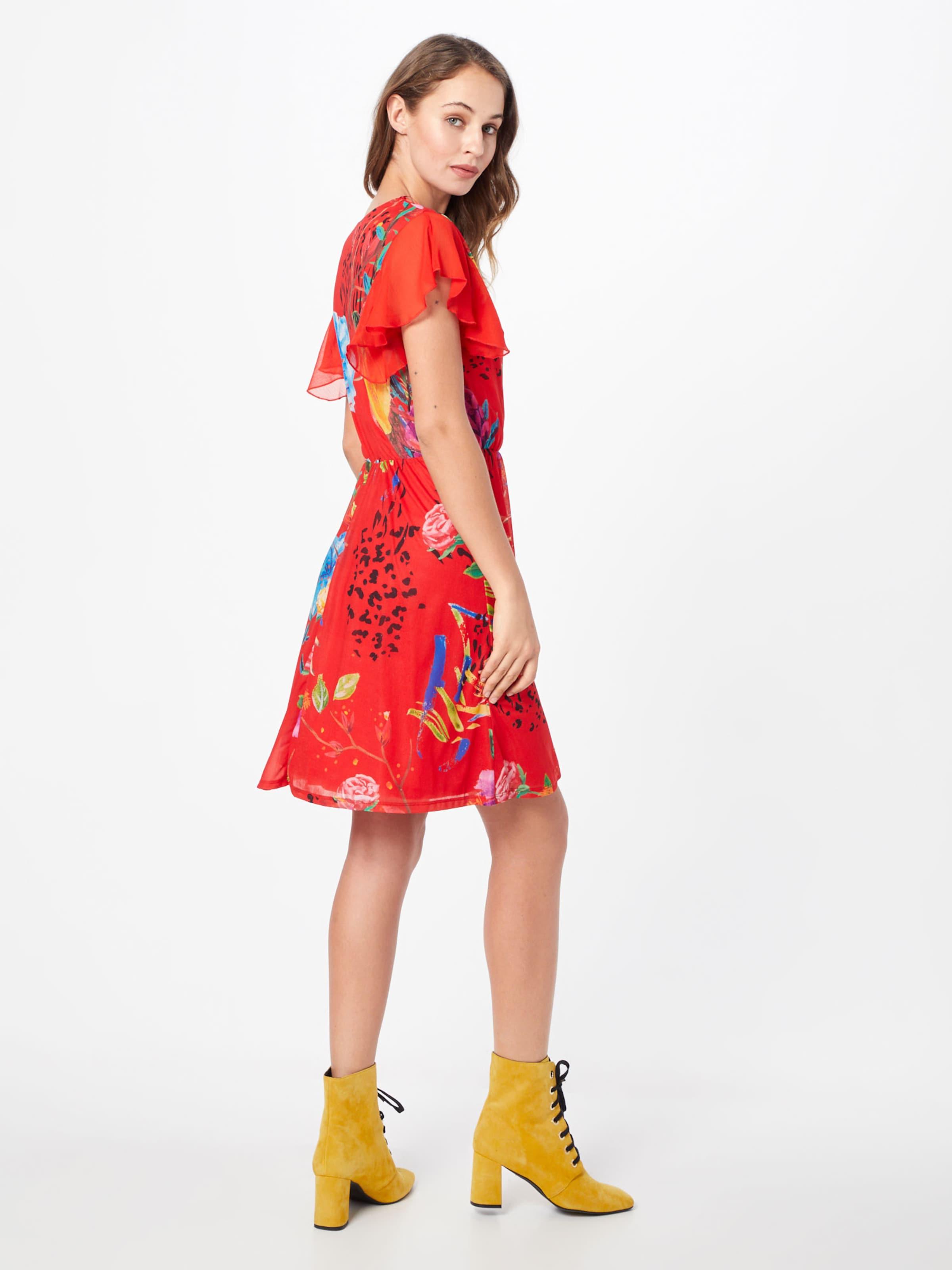 'vest Desigual Kleid miranda' In MischfarbenRot bfY7gyvmI6