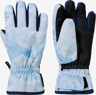 ZIENER Skihandschuhe 'Luffi' in azur / hellblau, Produktansicht