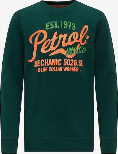 Petrol Industries Sweater in dunkelgrün, Produktansicht