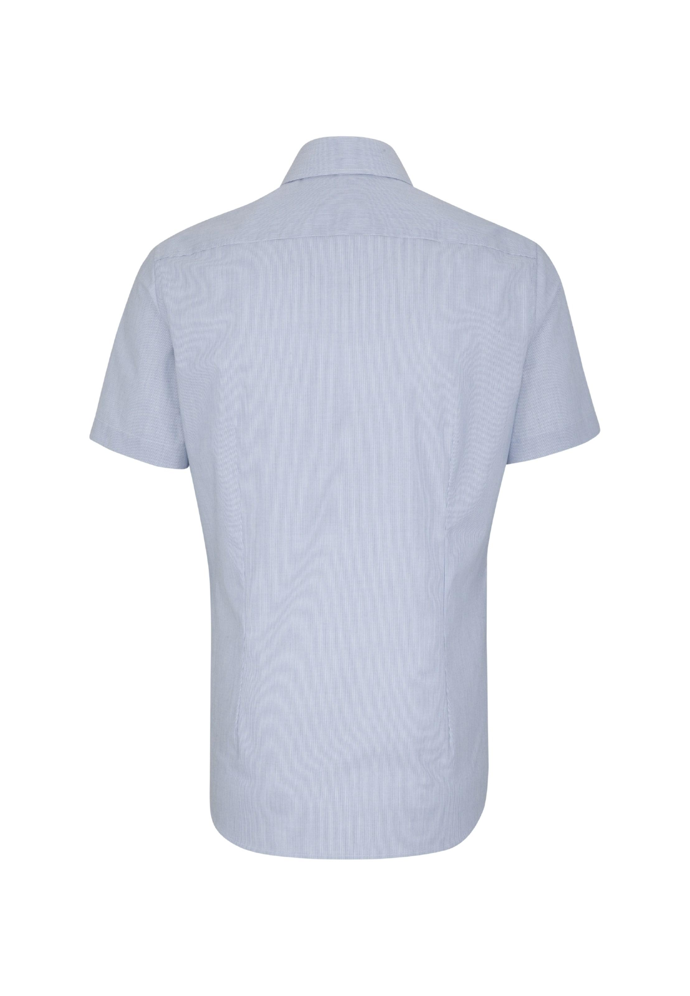 In Seidensticker Hemd Blau Seidensticker 'slim' ym08OvNwn