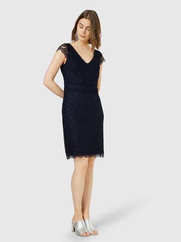 s.Oliver BLACK LABEL Spitzenkleid