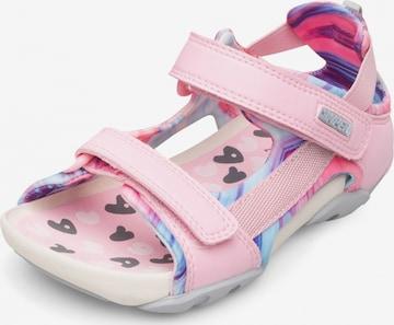 Sandales 'Ous' CAMPER en rose