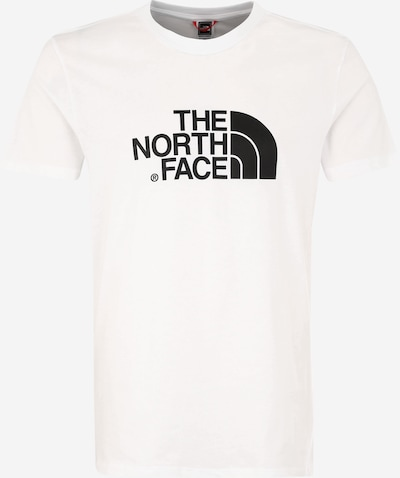 THE NORTH FACE Shirt 'Easy' in schwarz / weiß, Produktansicht