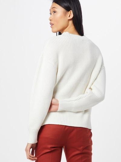 SELECTED FEMME Sweter 'SLFBAILEY' w kolorze białym: Widok od tyłu