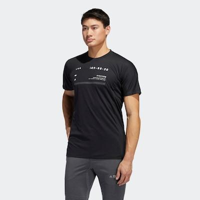 ADIDAS PERFORMANCE Shirt in schwarz: Frontalansicht