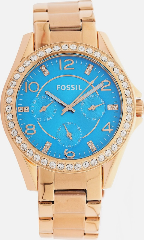 FOSSIL Armbanduhr Riley ES3569 mit Quarzuhrwerk