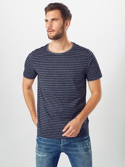 Matinique Shirt 'Jermane' in marine / graumeliert: Frontalansicht
