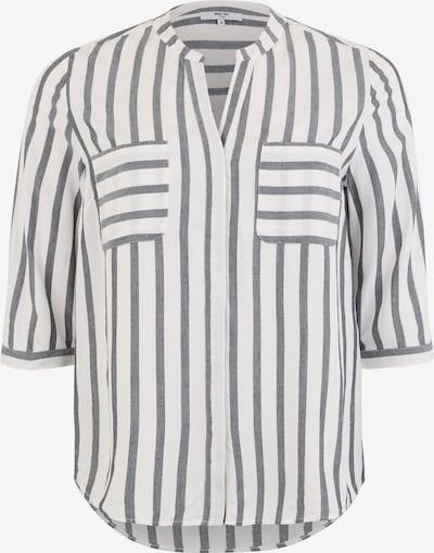 ABOUT YOU Curvy Bluzka 'Hanna' w kolorze granatowy / białym, Podgląd produktu