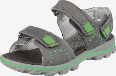 PRIMIGI Sandalen für Jungen in grau / neongrün, Produktansicht