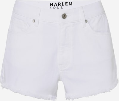 Harlem Soul Jeansshorts 'Se-Lia' in weiß: Frontalansicht