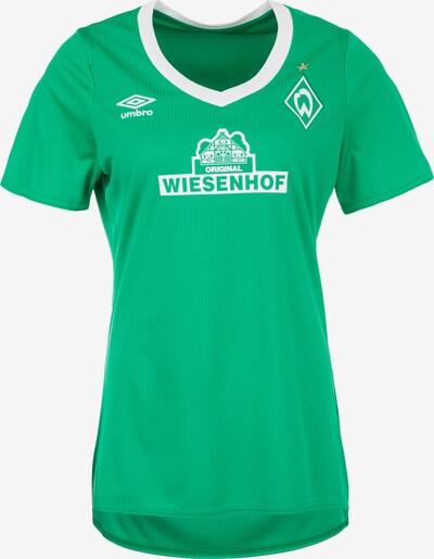 UMBRO Trikot  'SV Werder Bremen Home 2019/2020' in hellgrün / weiß, Produktansicht