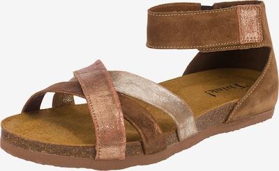 THINK! Shik Komfort-Sandalen in braun / bronze, Produktansicht