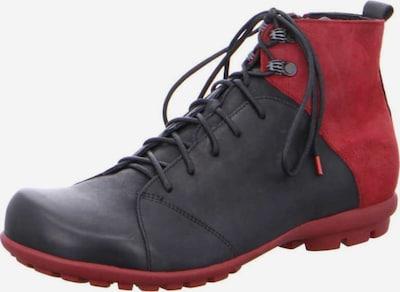 THINK! Stiefel in rot / schwarz, Produktansicht