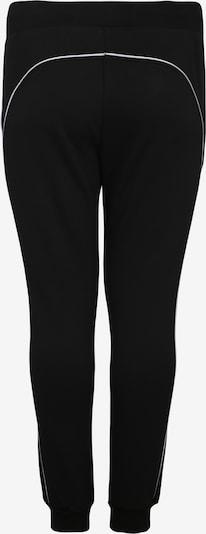 Urban Classics Curvy Bikses 'Ladies Reflective Sweatpants' pieejami melns: Aizmugures skats