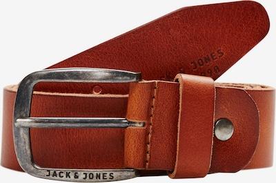 JACK & JONES Ledergürtel 'PAUL' in braun, Produktansicht