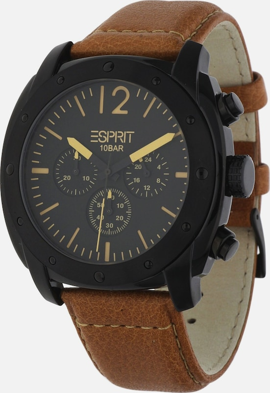 ESPRIT Robuste Armbanduhr mit Dornschließe