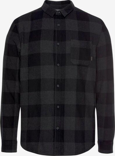 QUIKSILVER Koszula funkcyjna 'MOTHER FLY' w kolorze ciemnoszary / czarnym, Podgląd produktu