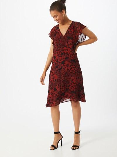 InWear Kleid 'Florizza' in rostrot / schwarz, Modelansicht