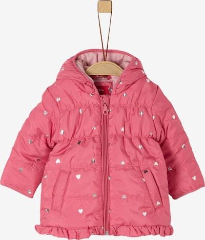s.Oliver Mantel in pink / silber, Produktansicht