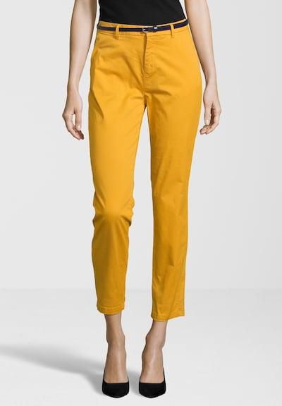 Chino stiliaus kelnės iš SCOTCH & SODA , spalva - geltona / garstyčių spalva: Vaizdas iš priekio