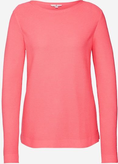 TOM TAILOR Pullover  'ottoman' in pink, Produktansicht